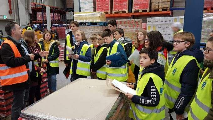 Visite de l'entreprise EDEKA à Offenbourg